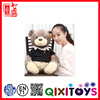 High quality and cheap stuffed soft plush teddy bear toy singing nurse teddy bear for children's gifts