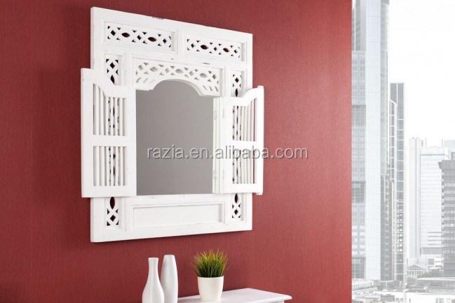 Holzrahmen Wand Deko Fenster Spiegel Design Dekorative Product On Alibaba