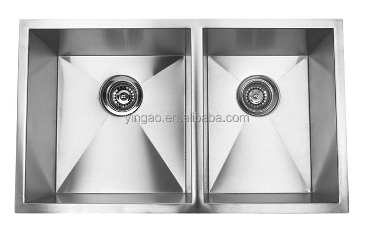 RA3219BL Latest product kitchen sink with drainboard, artisan sinks