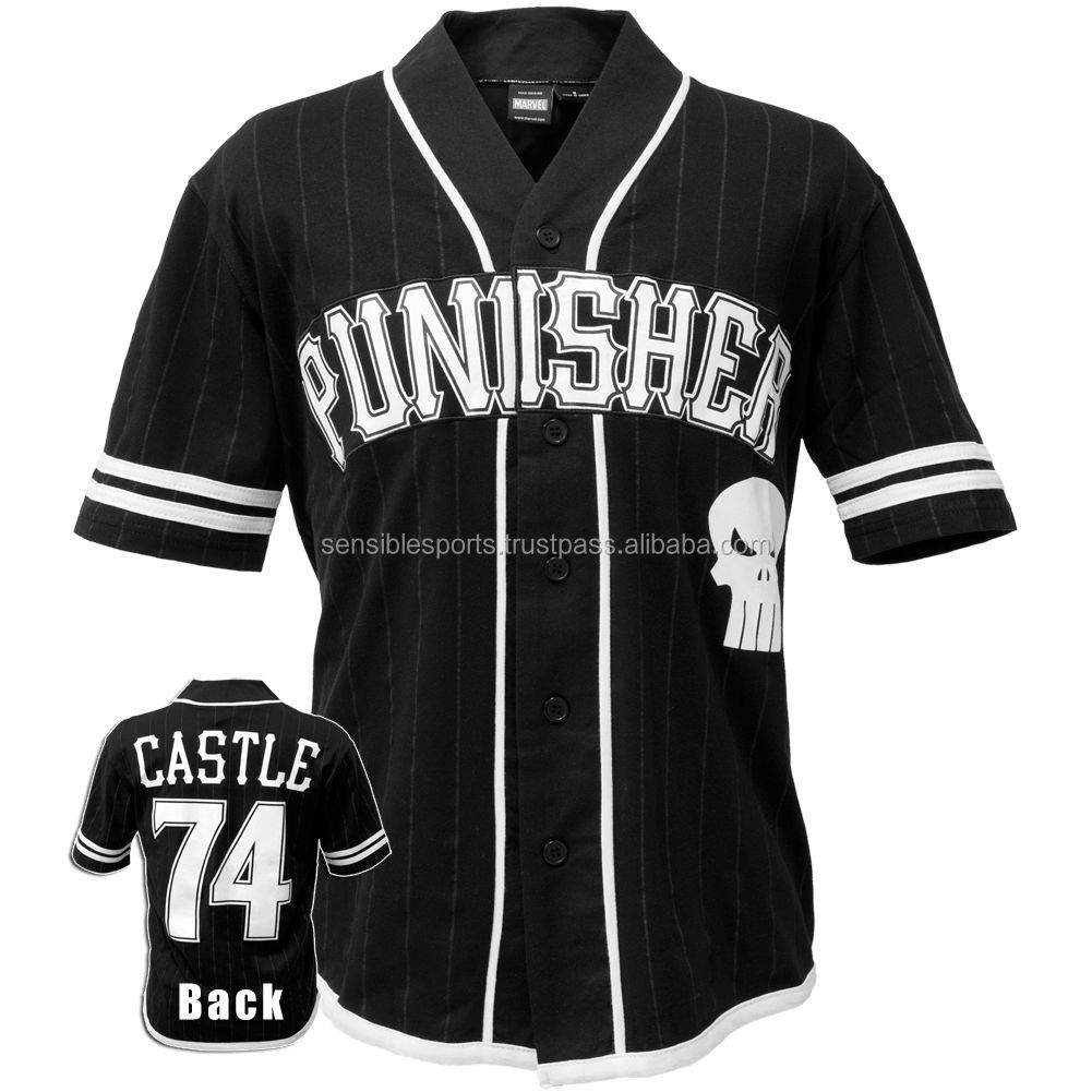 Wholesale Baseball Jerseys Customized Baseball Shirts Sublimation ...