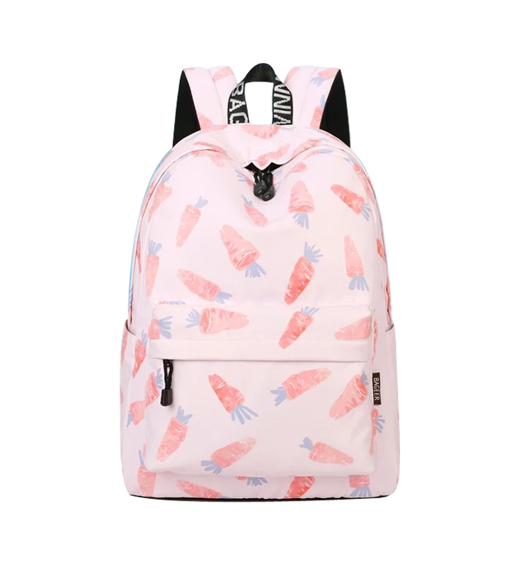 Online Fashionable Polyester Nice College Backpacks Girl School Bags
