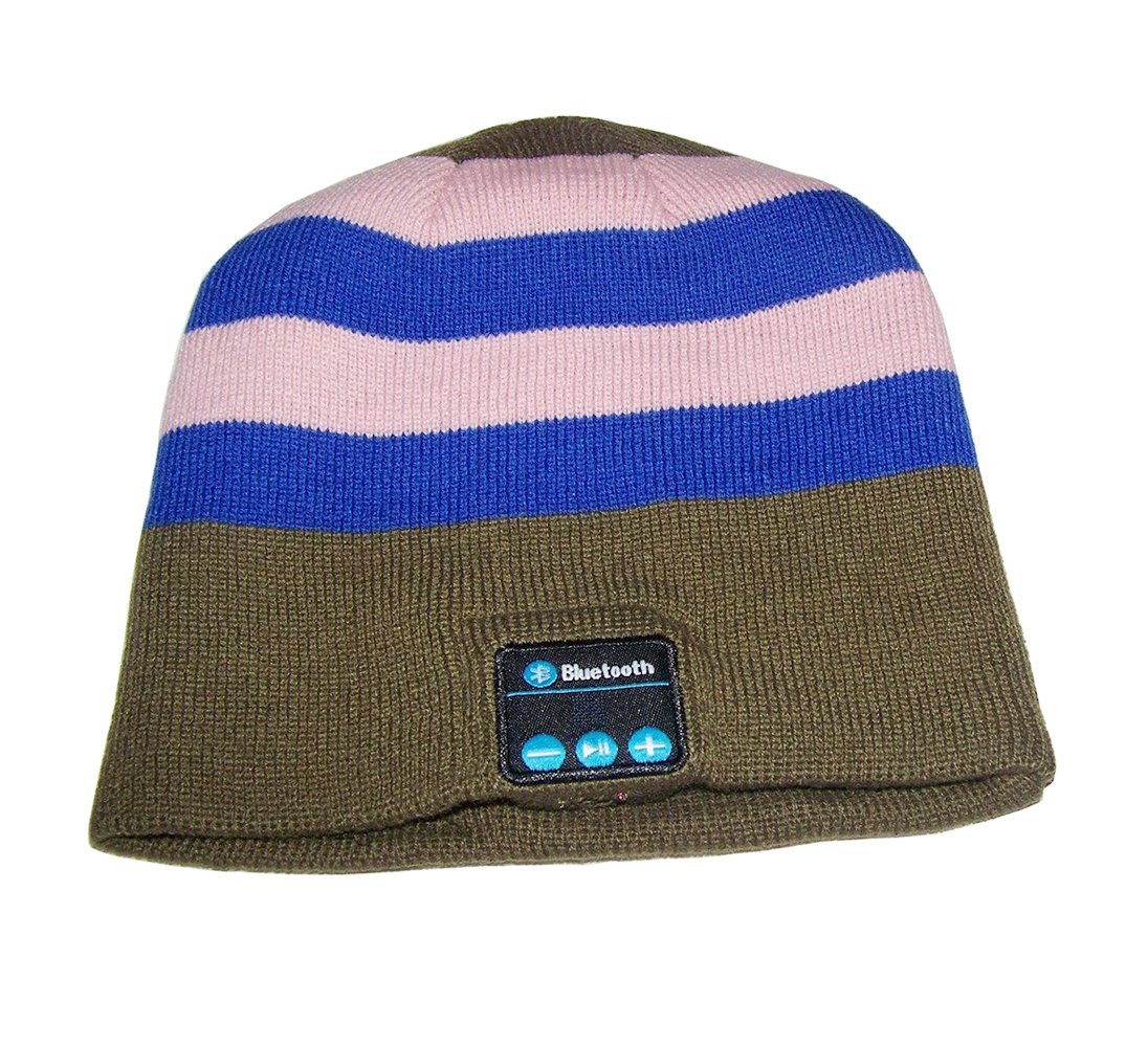 Momoday New Arrival Bluetooth Hat Bluetooth Music Hat Knitted Winter Hat Magic Hat Hands-free Music mp3 Speaker Hat Women/Men Winter and Spring Warm Hats Beanie Hat for Smartphones
