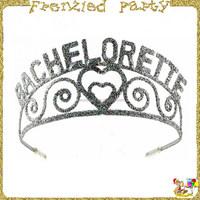 Bachelorette plastic princess crown party favors FGHD-0200