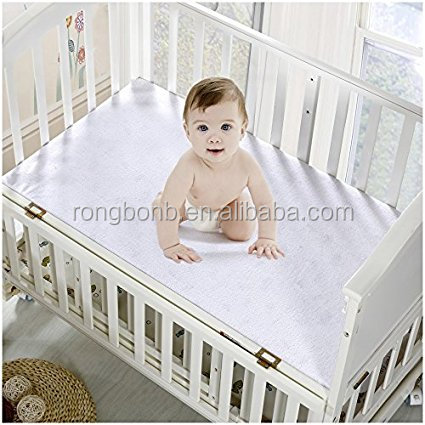Premium Waterproof Crib Mattress Protector - Hypoallergenic- Better than Pads, Covers or Toppers (Crib / Toddler Bed)