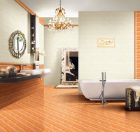 Acid resistant Healthy ceramic glazed interior floor and wall tile