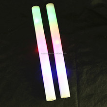 5170712-38 games cheering foam glow stick for party, cheerleaders favors LED foam stick