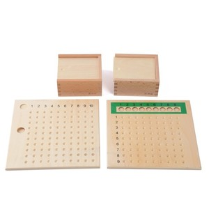 Kids learning math materials montessori teaching aids set