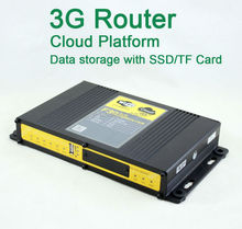 Support Cloud Platform 60 users connectivity 4G 3G WIFI Router for Bus