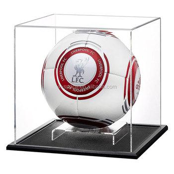 Acrylic Football Display Case Plastic Football Display Stand Box Fascinating Football Display Stand Plastic