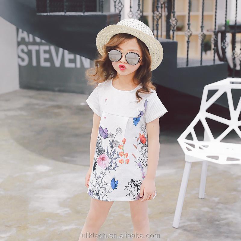 vestido de la manera al por mayor para aos nia vestido de camisa