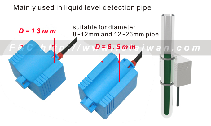 Fkct Series Water Level Switch,Suitable Diameter 8~12mm/12~26mm ...