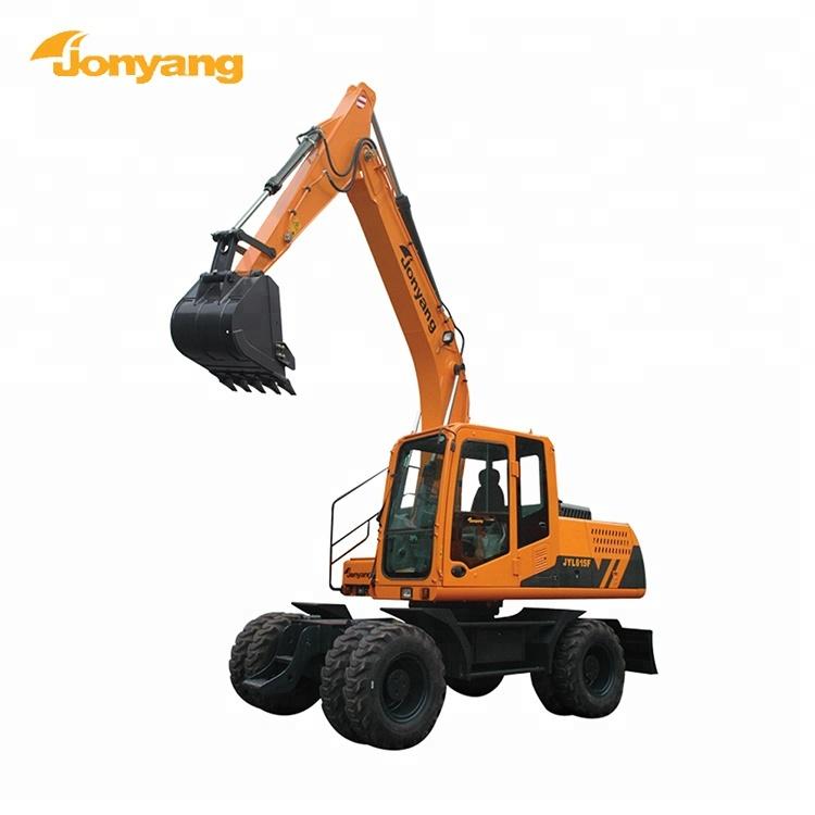 China made heavy-duty wheel new excavator price