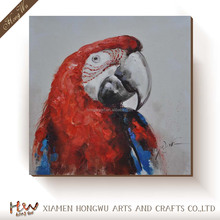 High Quality Polyster Canvas ,the Reproductions Art Decorative Canvas Prints Of Oil Painting 'Parrot' Wall Art Decoration