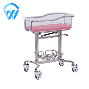 Kids care beds infant stainless steel hospital bed medical