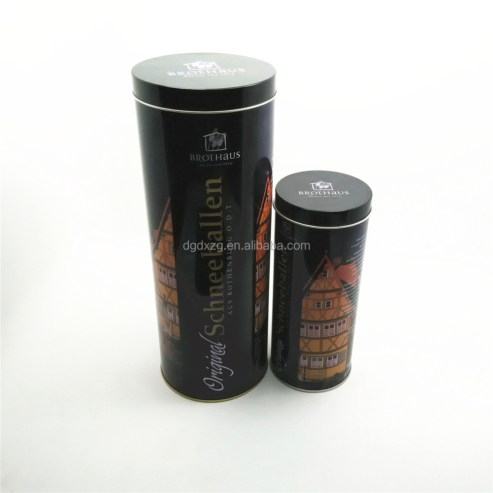 Chinese Round Metal Tin Box for Tea Packaging