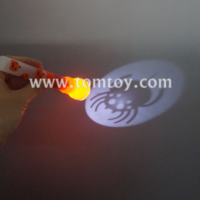 Halloween LED Flashing Flashlight Torch and Projectors