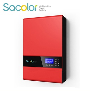 24Vac 230Vac 3000W Solar Off Grid Inverter with 50A PWM Solar Charger High Frequency Pure Sine Wave Inverter
