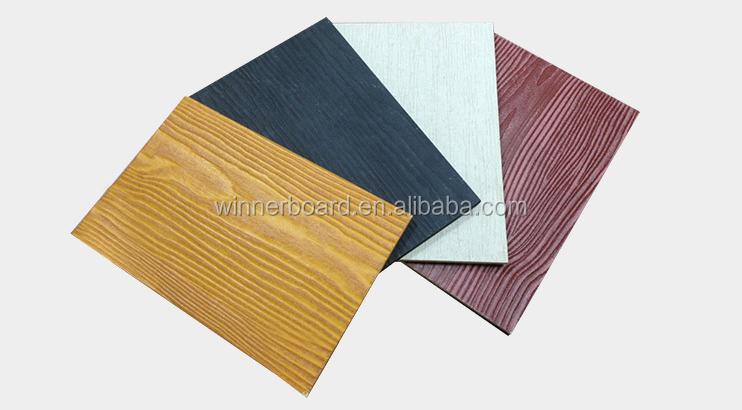 Ce Certificate Fiber Cement Board Flooring Cement Particle