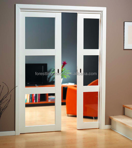 Good look low price wooden sliding door, pocket door