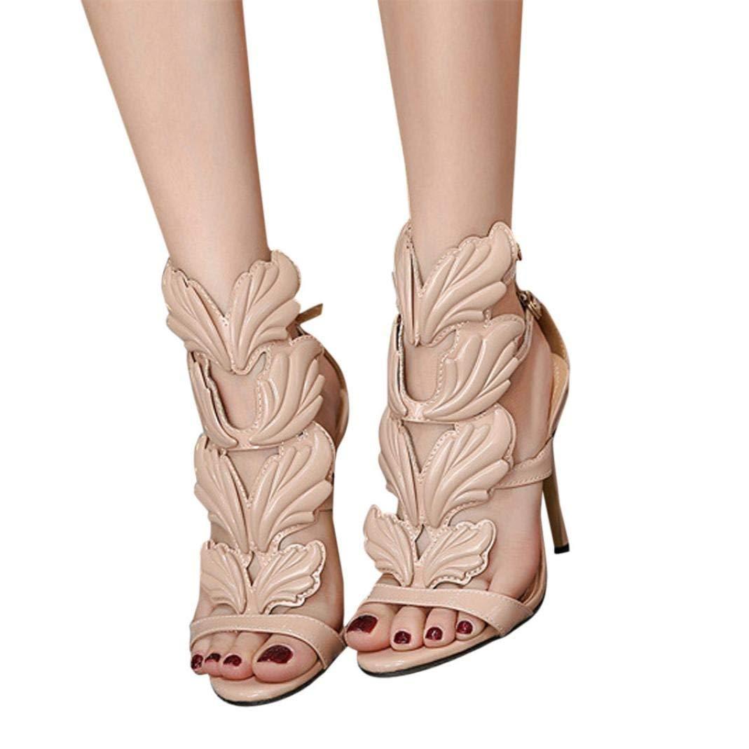 1478e1d8b8b Get Quotations · Leedford-Adult Shoes Women s Stiletto Dress Heel Pump  Sandals