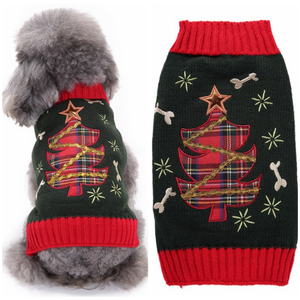Christmas Tree XXXL Pet Winter Clothes Dog Holiday Sweater