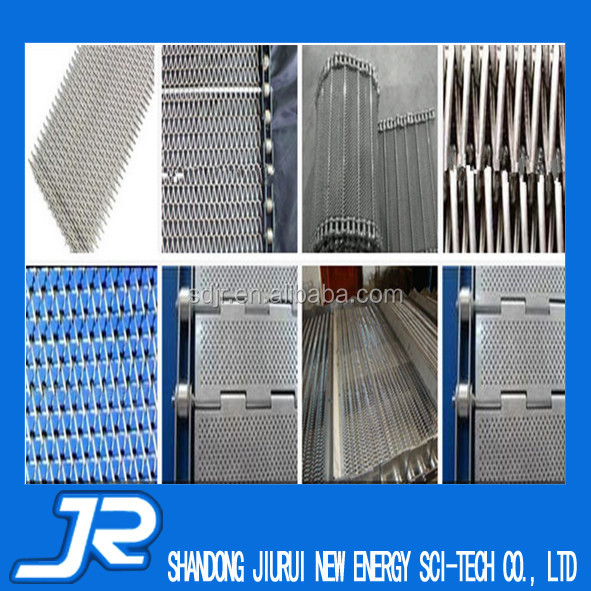 2015 China professional stainless steel 304 conveyor mesh belt for quick frozen food