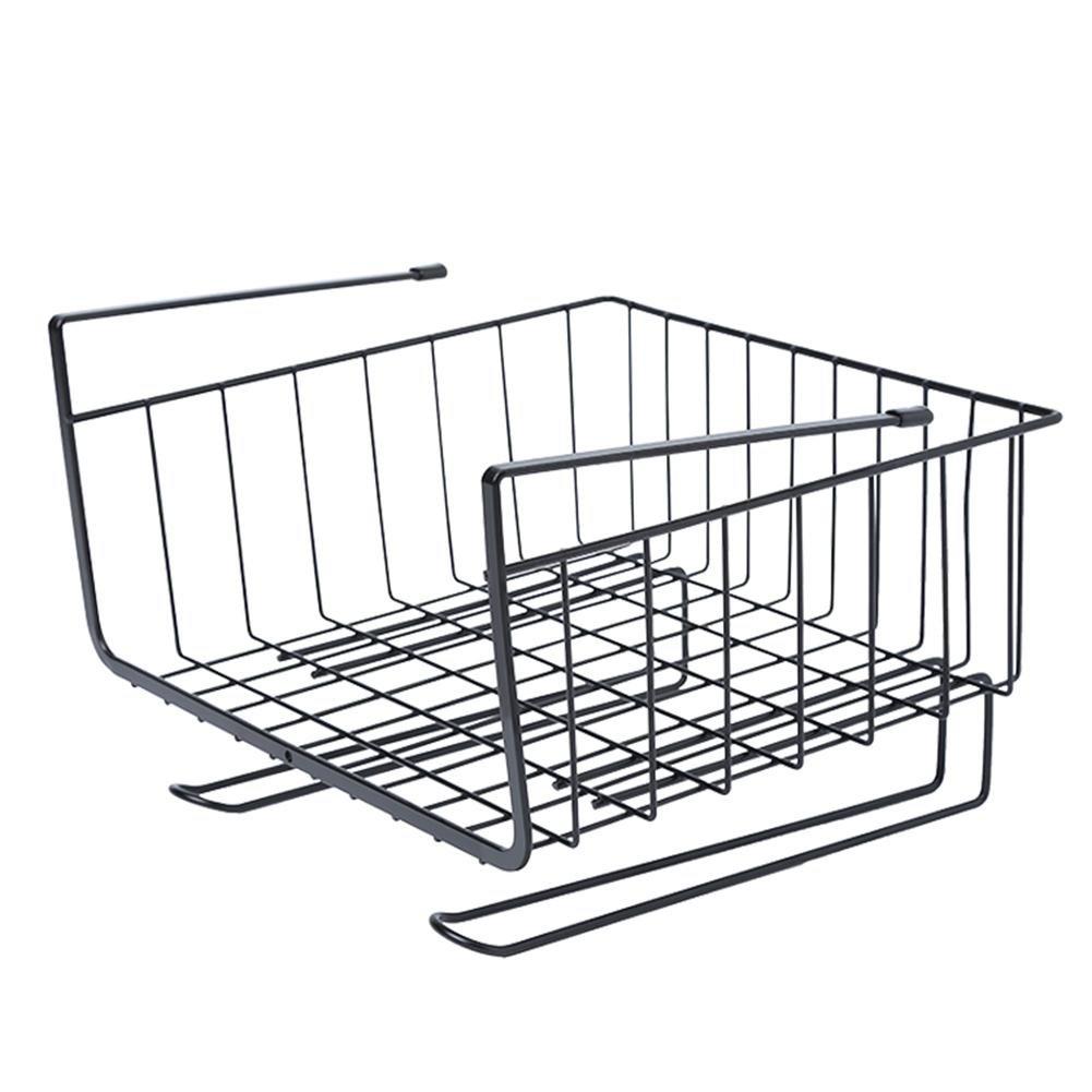 TTnight Under Shelf Basket, Hanging Closet Shelf Basket Cabinet Storage Rack Holder Kitchen Organizer