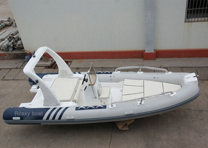 6.0m large rigid inflatable sailing boat
