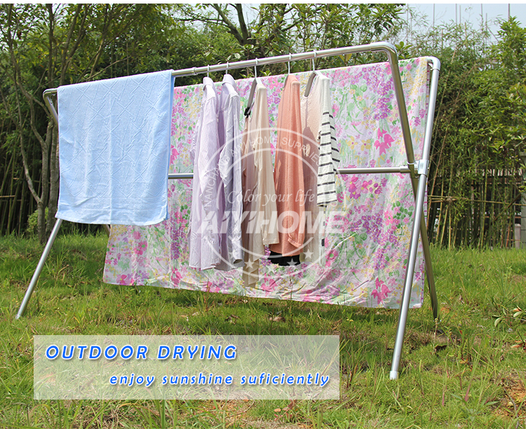 Outside clothes drying rack home ideas for Outside laundry designs