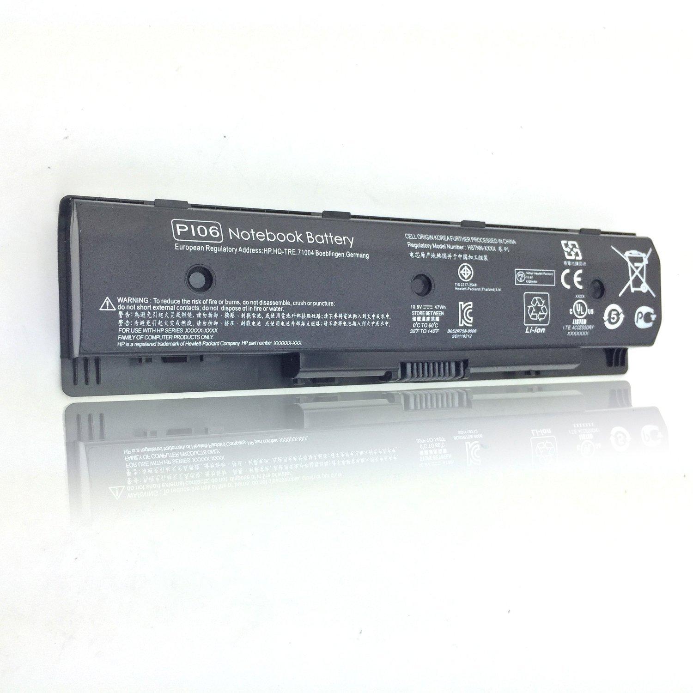 Elecbrain 10.8V 47WH New PI06 Laptop Battery for HP envy 15 15T 17 Touchsmart M7-J010DX hstnn-yb40 710417-001 709988-421,710416-001 ,HP ENVY 15-j000 17-j000 series