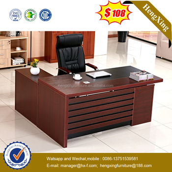 Luxury Director Unique High End Wooden Office Desk (HX 6M058)