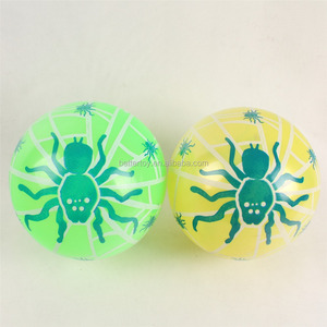 pvc shape changing splat rolling ball toy