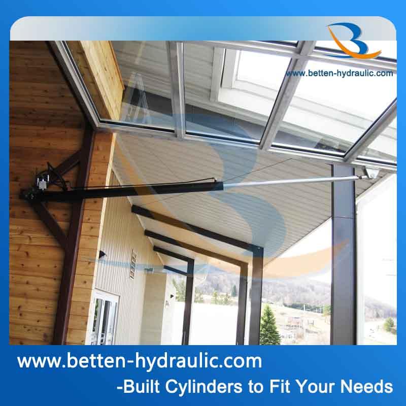 V rin hydraulique pour porte porte de garage v rin - Verin porte de garage ...