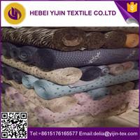 Stocklot printed 80% polyester 20% rayon soft viscose fabrics