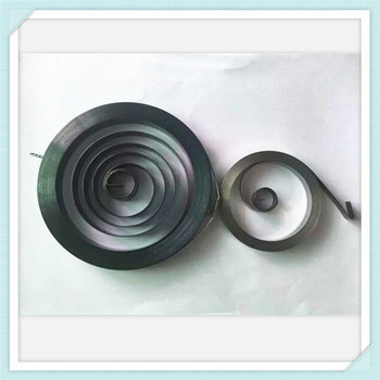 Steel Flat Contact Spiral Torsion Springs Sprial Coil