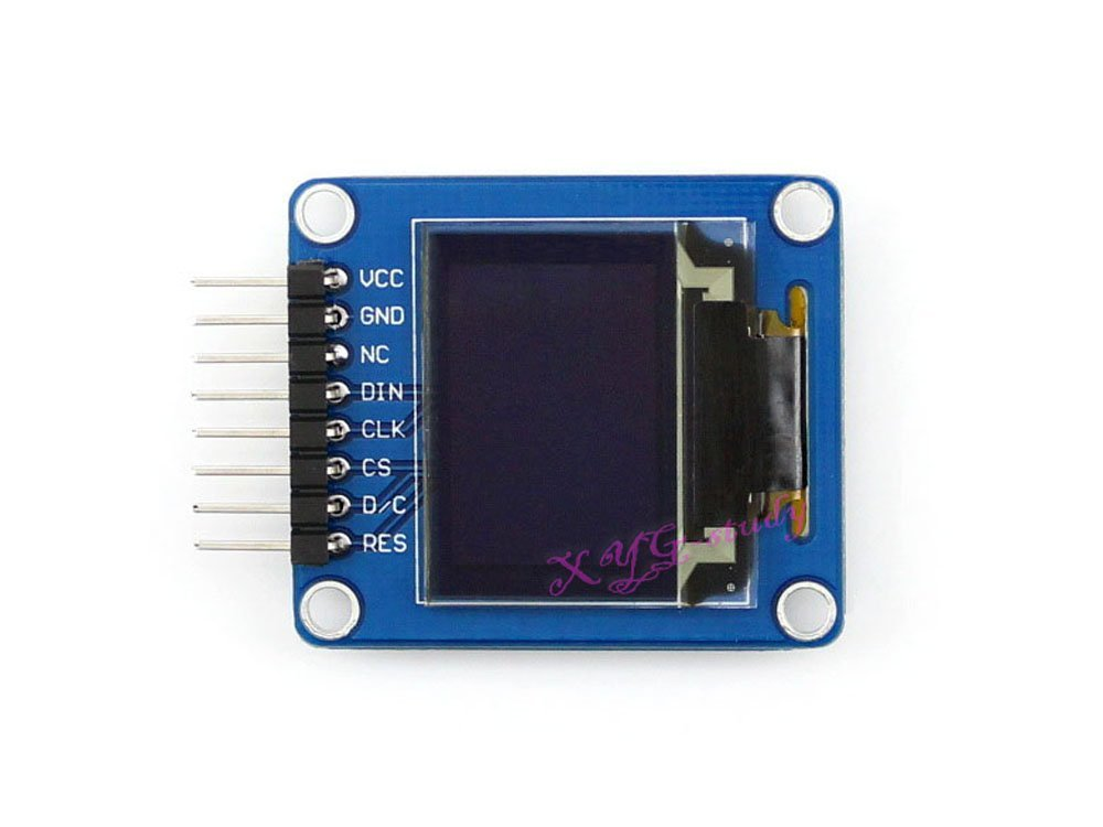 0.95 inch RGB OLED (A) 96×64 SPI interface Horizontal Pinheader SSD1331 Display Panel Module @XYG