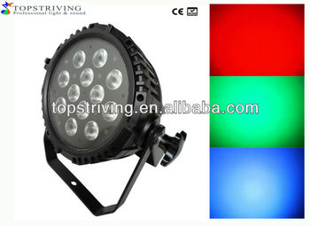 12 Pcs 9w Rgb Tri Ip65 Outdoor Waterproof Led Par Light ...