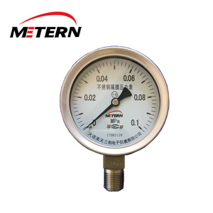 Manometer 0-200 BAR 0-10 bar 1 Mpa 150 psi 1000 kpa common rail front solid pressure gauge