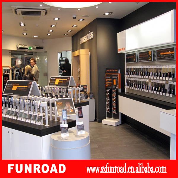 customized cell phone showcasemobile phone store display