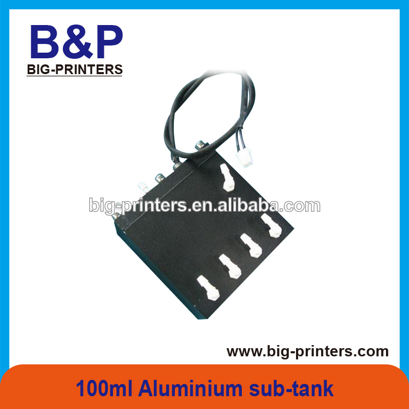 HOT SALE !!!! OUTDOOR Printer Spare Parts Sub-Tank 100ML Aluminium material ink sub-tank