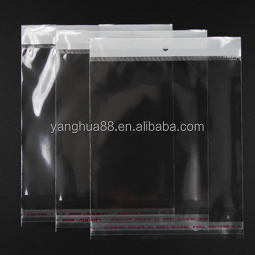 plastic clear shirt packing poly self adhesive bag for apparel clothing packaging factory garment retailers polybag
