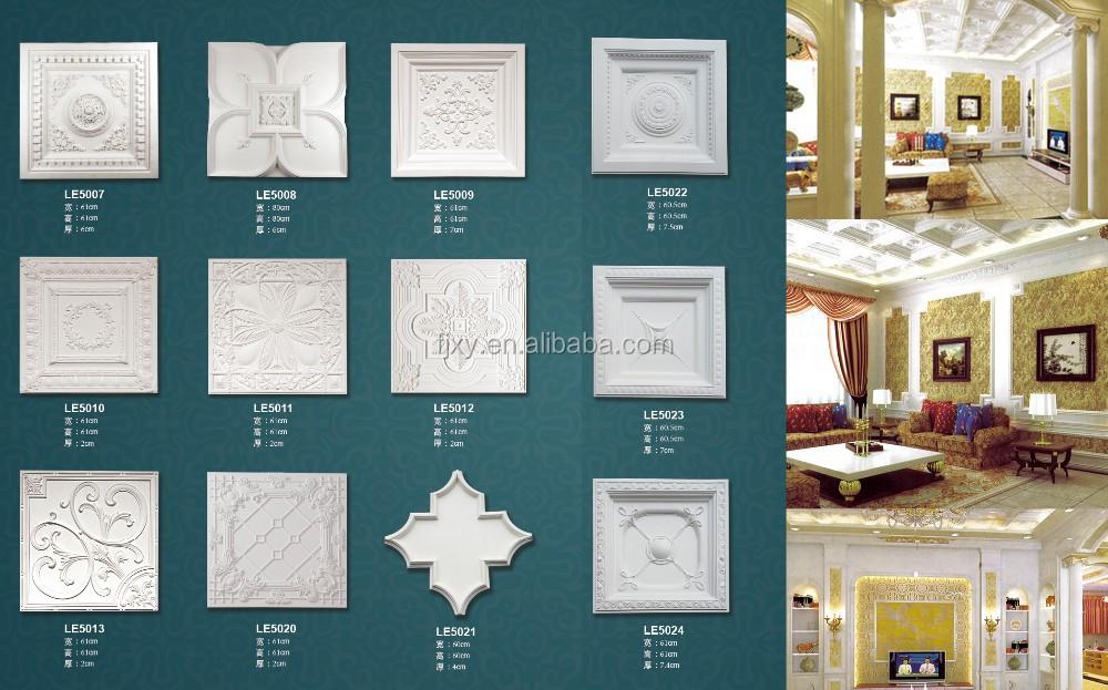 Pu Stereo Combi Ceiling Panel,Polyurethane Foam,Exterior ...