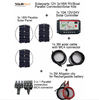 3pcs 18W High Efficiency Mono Solar Panel system Home Power Kit Off grid