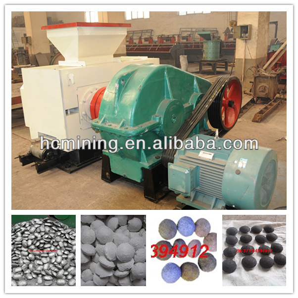Hydraulic press small charcoal briquette making machines