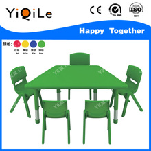 low price children plastic chair lovely kids table and chair set popular kindergarten study table and chair for sale