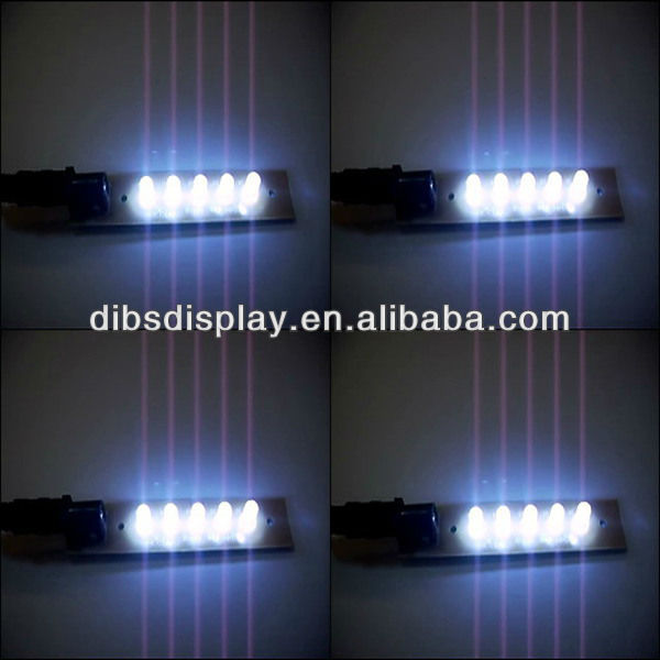 Pop solar powered strip led light