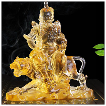 High liuli god of wealth Home Furnishing jewelry personality small ornaments crafts