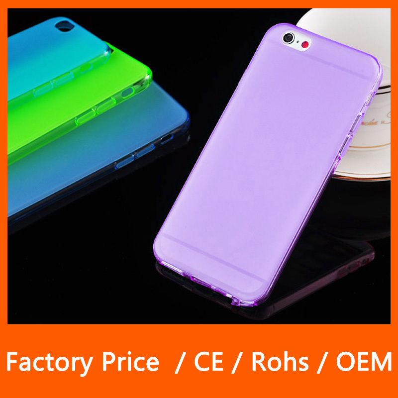 For Cell Phone Case Covers Best Quality Cheap Ultra Thin Matt Translucence TPU Case For iphone 6 4.7 Inch Defender Cover