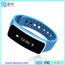 Health tracker watch wristband plastic lock wristband snap closure