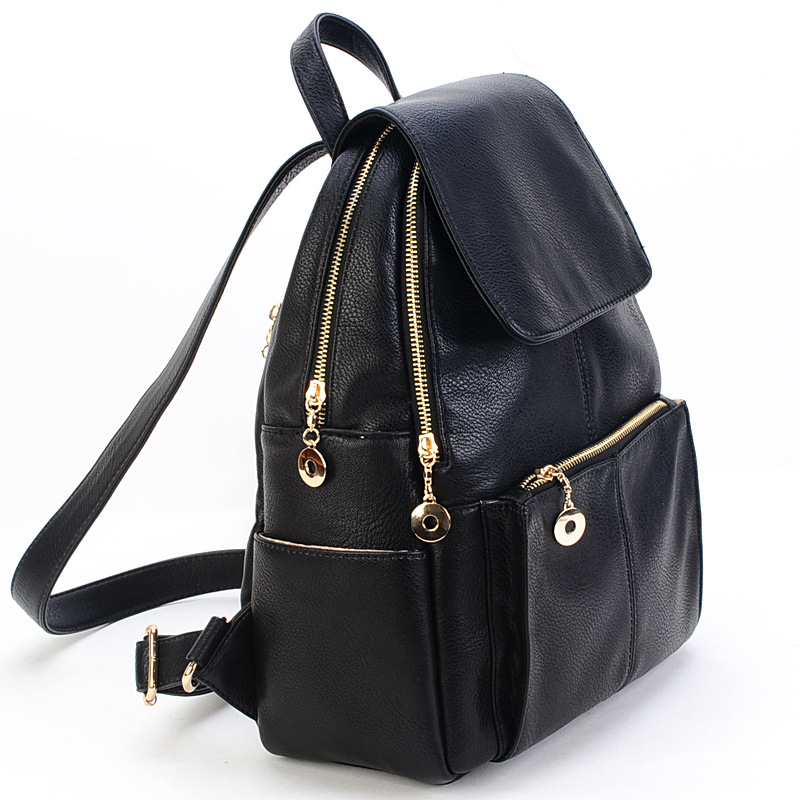 Women Leather Handbags New Bags Handbags Famous Brands Special Counter Backpack 2015 Korean Genuine Leather Bag Female Tourism